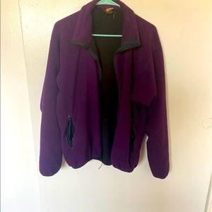 REI POLARTEC Dark Purple Jacket